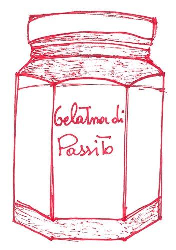 gelatina passito