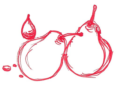 pere aceto balsamico